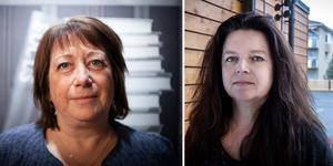 Regionrådet Karin Thomasson och miljöstrategen Åsa Paletun.