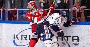 Andrew Rowe spelar inte mot Linköping. Foto: Daniel Eriksson/Bildbyrån