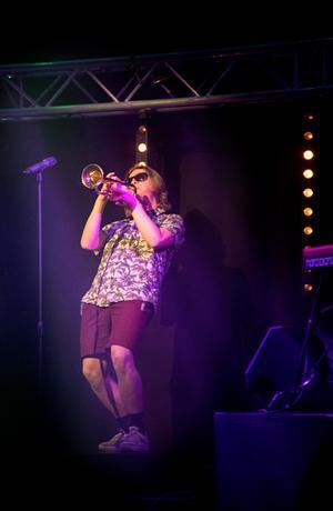 Joel Norberg stod för en del härliga trumpetsolon.