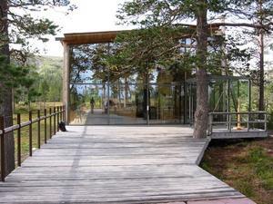 Naturum Fulufjället öppnade på lördagen och håller öppet ända in i oktober. Foto: Länsstyrelsen Dalarna