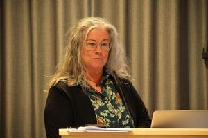 Monica Hallquist får sparken. arkivbild