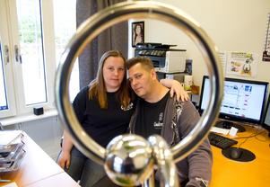 Framgångsrika Hallstaföretaget Coalcreeks grundare, Jenny Eriksson och Thomas Grankvist, på en arkivbild från 2009. Foto: Jackie Meh