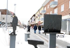 Louise Schmidt blev förföljd i Sandvikens centrum.