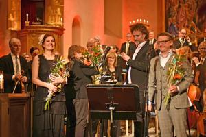 Cecilia och Christer Nerfont bjöd på sånger från Thore Skogman till Coldplay. Bild: Camilla Dal