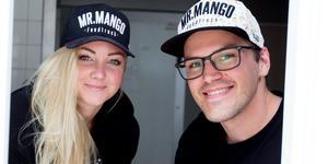 Josefin Jackson och Marcus Nilsson i luckan till Mr. Mangos nya lunchrestaurang, som beräknas öppna inom en månad i Kocken & Kastrullens gamla lokaler. Dessutom finns man på Bondtorget från och med denna vecka.