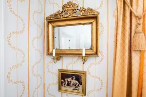 1700-talet syns överallt i rummen.