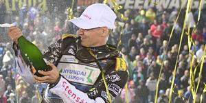Fredrik Lindgren är nu en av de åtta största förarna i GP-historien, i varje fall sett till antalet inkörda poäng. Foto: Mikael Frizon/TT