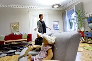 BARNAHUS. Birgitta Sjöberg har jobbat i polishuset i Gävle i 20 år och tycker att Barnahuset är ett stort steg framåt.