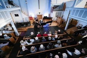 Orsa Missionskyrka har en välklingande akustik.