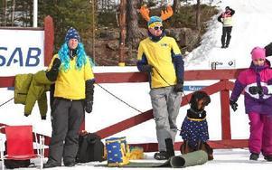 Amanda och Peter Gunnarfeldt med rottweilern Ozzy.