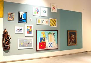 Geometrins former i symboler som fyrkanten, triangeln och cirkeln går igen genom konsthistorien.