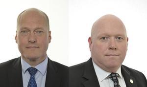Sven-Olof Sällström, som bor i Östersund i Jämtland, och Magnus Persson från Bromölla i Skåne. Båda representerar de Dalarna och Sverigedemokraterna i riksdagen.