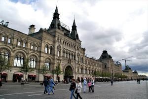 Från Röda Torget i Moskva