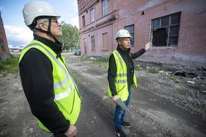 Ulf Gavlefors är projektledare och Peter Simryd är lokalmäklare på Gavlegårdarna.
