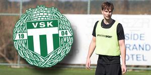 Jonas Hellgren allt närmare spel med VSK i superettan.