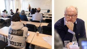 Det krävs utbildning för att få in många nyanlända på arbetsmarknaden, enligt Ånges kommunalråd Sten-Ove Danielsson (S).