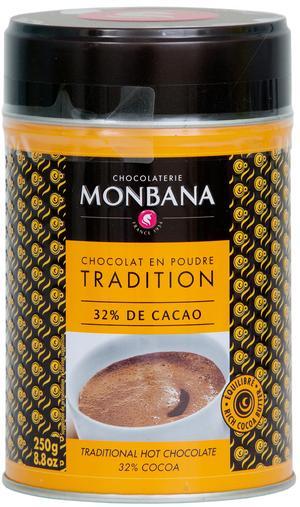 Monbana Chokladpulver.