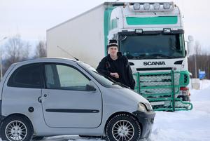 Vansinnesfärden med lastbil tog slut i Hede. Chauffören som höll på att ramma William Dahl visade sig ha 2,14 promille alkohol i blodet