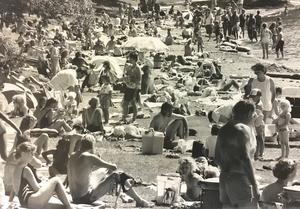 Björnöbadet 1991.