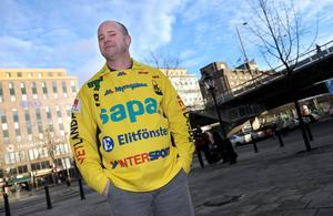 Jonas Claesson inför sitt första tränaruppdrag. Bilden är från elitseriens upptaktsträff 2008. Foto: Fredrik Sandberg / SCANPIX