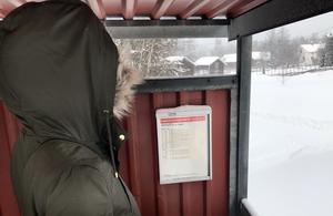 Beställningscentralen hade vid ett tillfälle missat att lägga in bokningen, och Kerstin fick stå i en timme vid stationen i snöoväder innan taxin var på plats för att ta henne hem.