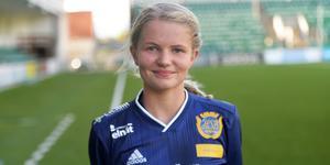 Alva Eriksson flyttades upp till A-laget under säsongen.