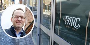 Ted Stöffling driver restaurangerna Smak och Geschwonergården i Falun. Han vill även öppna Bistro Le Parc, där gästerna ska kunna spela boule. Foto: Claes Söderberg/Kenneth Westerlund