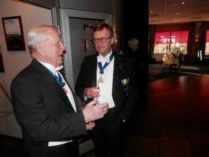 Till v. Jubelveteran Bertil Lidbaum och ROÄ Lennart Cederberg, Br. Bertil berättade att när han var ung Eubat så deltog de som grundade logen 1929 fortfarande i logens möten.