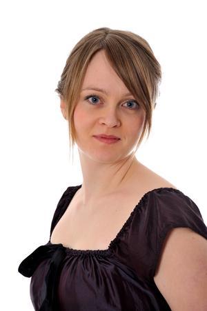 Ida Zackrisson, sopran, var en av konsertens fyra solister. Foto: Anders Bringsjö