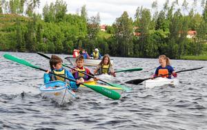 Fagerviks kanotklubb fick pengar till en paddelmaskin.