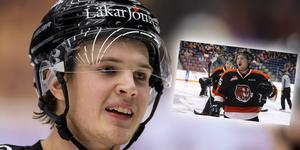 Linus Nässén jagar NHL-drömmen i Medicine Hat Tigers. Foto: Peter Skaugvold / BILDBYRÅN/Privat