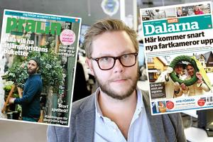 Gratistidningen Mitt Dalarna försvinner – och ersätts av helgmagasinet Pralin.