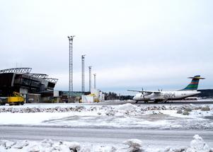 Midlanda, som numera har det officiella namnet Sundsvall-Timrå Airport.