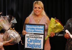 Årets Klöver dam, Caroline Haglund.