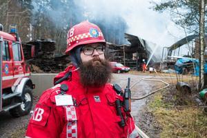 Kamil Oskar Bialas, räddningsledare på Södra Dalarnas räddningsförbund.