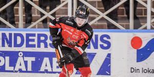 Patrik Elfsberg, här i Hudiksvalls tröja, är klar för spel i Borlänge Hockey.