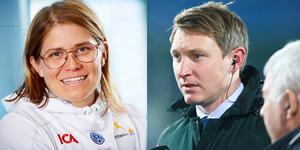 Ida Ingemarsdotter och Kim Källström var två av de deltagare som SVT presenterade under onsdagen. Foto: TT.