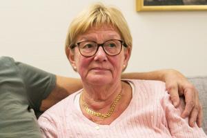 Birgitta Edströms värld skakades om i grunden när hon nåddes av beskedet att hennes make var livlös.
