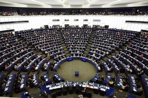 EU-parlamentet i Strasbourg. Foto: Fredrik Persson/TT