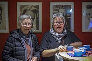 Kin Engman och Inger Jansson tyckte att frågorna var svåra.