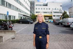 Elisabeth Anestad, polisområdeschef i Örebro.