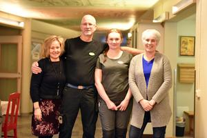 Monica Estenberg, Kus Kjell Hansson, Susanne Axelsson och Birgitta Andersson berättade om verksamheten.