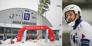 Joakim Hedqvist vill inte kommentera Vänersborgs ekonomiska kris.