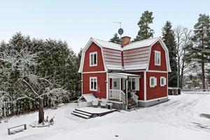 Denna trerumsvilla i Hedemora hamnade på plats 6 på Klicktoppen för vecka 4, sett till objekten från Dalarna. Foto: Patrik Persson