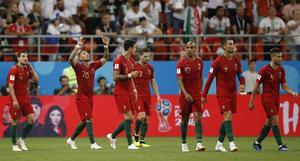 Portugal valde en låt om ångest som officiell VM-låt. Bild: AP Photo/Francisco Seco