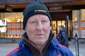 Bengt Lööw, 66 år, pensionär, Sundsvall: