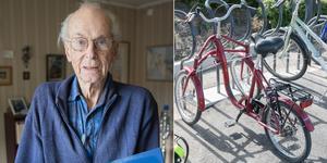 Cykeln stals vid Vasa handelsplats i förra veckan. Tack vare LT:s läsare hittades den på torsdagen vid Nykvarns station.