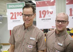 Thomas Ekenhammar, handlare och Niklas Jonsson, marknadschef kommer att fortsätta sponsra