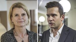 Ministrar. Åsa Regnér (S) och Gabriel Wikström (S).