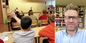 Det som behövs är rätt villkor att vara lärare, säger Svante Tideman, Lärarnas riksförbund.
